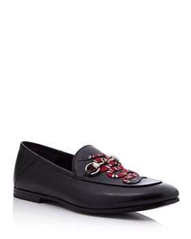 b4cee0fc816b Gucci - Men s Brixton Snake-Appliqué Loafers ...