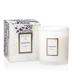 Voluspa Japonica Mokara Embossed Glass Scalloped Edge Candle - Bloomingdale's Registry_0