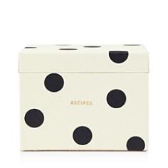 kate spade new york Deco Dot Recipe Box - Bloomingdale's_0