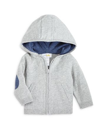 Bloomie's - Boys' Hooded Zip Cardigan, Baby - 100% Exclusive