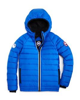 Canada Goose - Unisex PBI Collection Sherwood Hooded Puffer Jacket - Little Kid, Big Kid