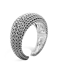 John Hardy Sterling Silver Classic Chain Domed Kick Cuff, 27mm - Bloomingdale's_0