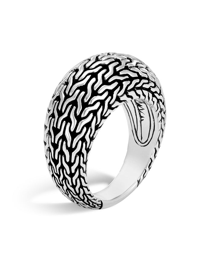 JOHN HARDY - Sterling Silver Classic Chain Dome Ring