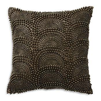 """Donna Karan - Beaded Decorative Pillow, 12"""" x 12"""" - 100% Exclusive"""
