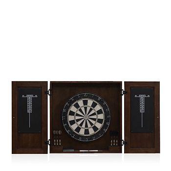 American Heritage Billiards - Turin Dartboard Cabinet