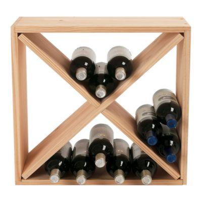 $Wine Enthusiast 24 Bottle Cube - Bloomingdale's