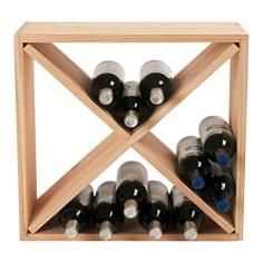 Wine Enthusiast 24 Bottle Cube - Bloomingdale's_0