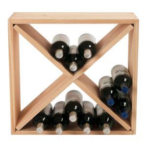 Wine Enthusiast 24 Bottle Cube