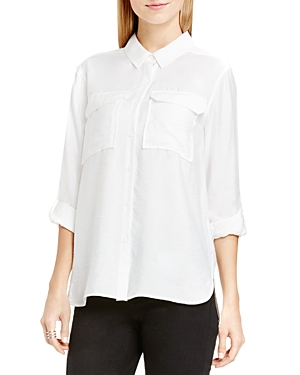 Vince Camtuo Roll Sleeve Utility Shirt