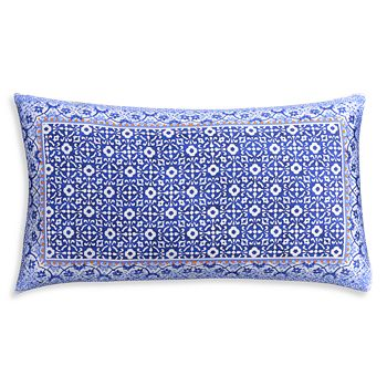 """cupcakes and cashmere - Blue Frame Decorative Pillow, 13"""" x 23"""""""