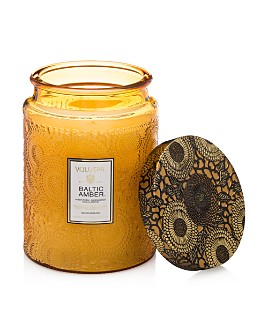 Voluspa - Japonica Baltic Amber Large Glass Candle