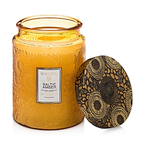 Voluspa Japonica Baltic Amber Large Glass Candle