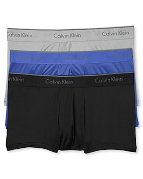 Calvin Klein - Microfiber Stretch Low Rise Trunks - Pack of 3