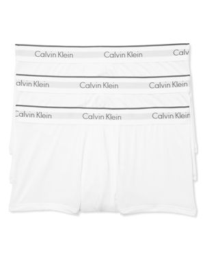 Calvin Klein Microfiber Stretch Low Rise Trunks - Pack of 3
