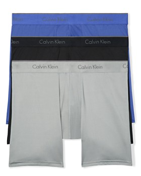 Calvin Klein - Microfiber Stretch Boxer Briefs - Pack of 3