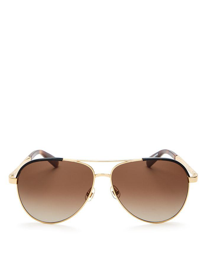 c7842f286 kate spade new york Women's Amarissa Aviator Sunglasses, 60mm ...