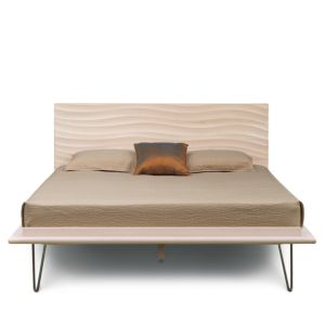 Bloomingdale's Artisan Collection Wave Queen Bed thumbnail