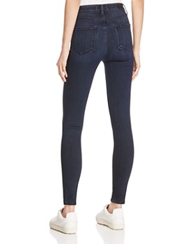 PAIGE - Hoxton Ankle Skinny Jeans in Harla