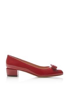 Salvatore Ferragamo - Women's Vara Patent Leather Pumps