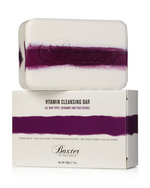 Baxter of California - Vitamin Cleansing Bar, Bergamot & Pear