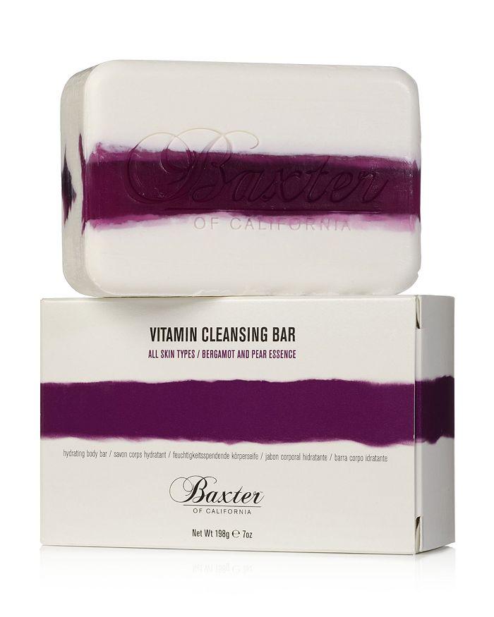 Baxter of California - Vitamin Cleansing Bar, Bergamot & Pear