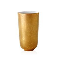 L'Objet - Alchimie Small Gold and Platinum Vase