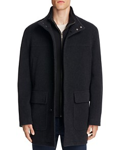 Cole Haan - Wool Cashmere Car Coat