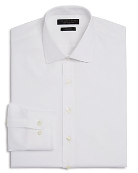 The Men's Store at Bloomingdale's - Textured Solid Slim Fit Basic Dress Shirt - 100% Exclusive