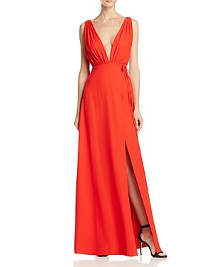 Aqua Sleeveless Deep V Wrap Dress - 100% Exclusive