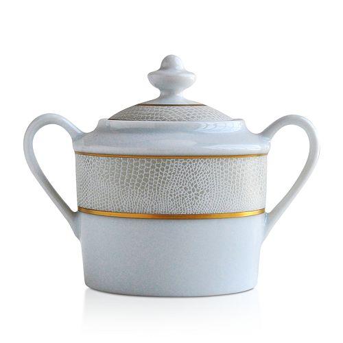 Bernardaud - Sauvage White Sugar Bowl