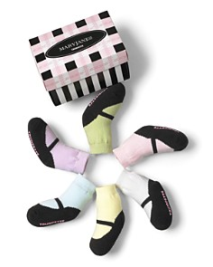Trumpette Girls' Mary Jane Pastel Socks, 6 Pack - Baby - Bloomingdale's_0
