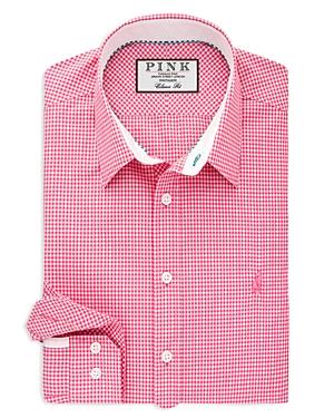 Thomas Pink Herbie Check Dress Shirt - Bloomingdale's Regular Fit