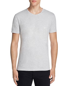 Emporio Armani - Pure Cotton Crewneck T-Shirts - Pack of 3