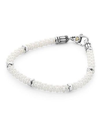 LAGOS - Sterling Silver White Caviar Bracelet