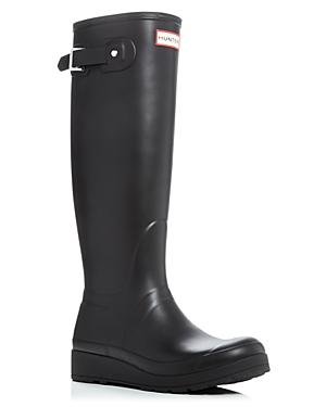 Hunter Original Tall Wedge Sole Rain Boots