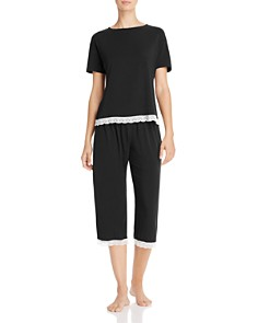 Cosabella Majestic Short Sleeve Top & Crop Pants - Bloomingdale's_0