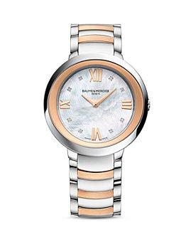 Baume & Mercier - Promesse Diamond Two Tone Watch, 34mm