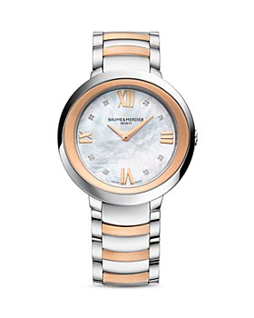Baume & Mercier - Promesse Diamond Two Tone Watch, 34mm