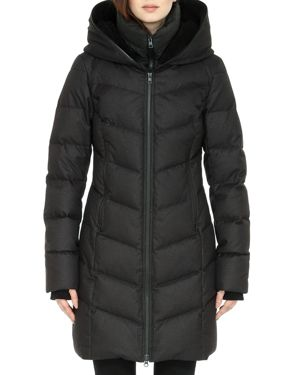 Soia and Kyo Franzi Hooded Down Coat - 100% Exclusive