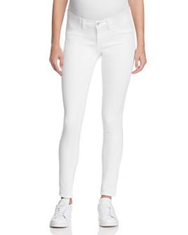 J Brand - Mama J Skinny Maternity Jeans in Blanc