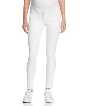9f07a5ffd4434 J Brand - Mama J Skinny Maternity Jeans in Blanc ...
