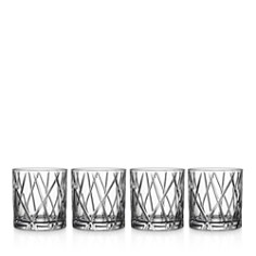Orrefors - City Double Old Fashioned Glass, Set of 4
