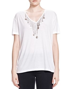 The Kooples Coin Detail Tee