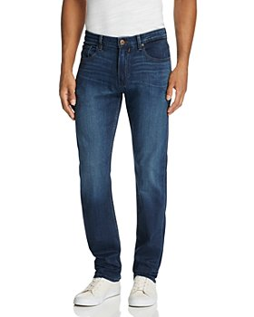 PAIGE - Transcend Federal Slim Straight Fit Jeans in Blakely
