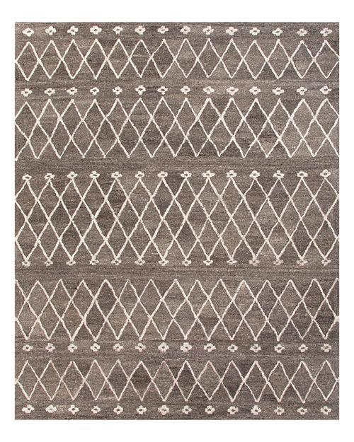Jaipur - Riad Area Rug - Charcoal Gray/Egret