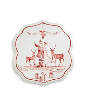 Juliska - Winter Frolic Under the Mistletoe Ruby Trivet