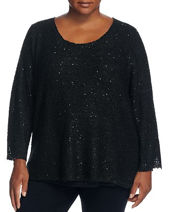 Sioni Plus - Sequined Sweater