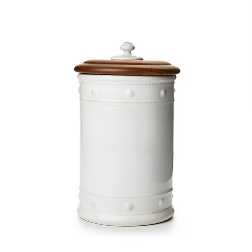 """Juliska - Berry & Thread 11.5"""" Canister with Wooden Lid"""