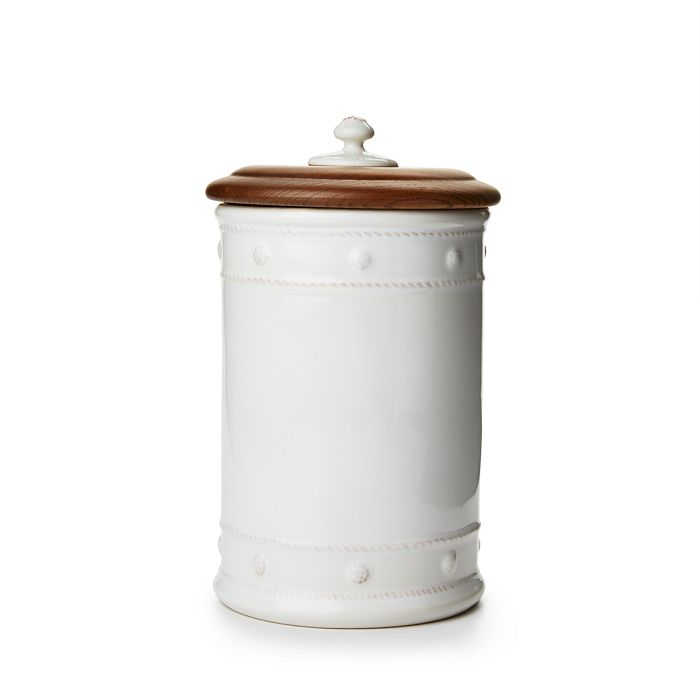 "Juliska - Berry & Thread 11.5"" Canister with Wooden Lid"