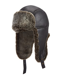 Crown Cap - Shearling Aviator